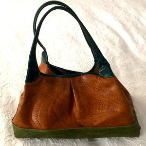 Leaders in Leather Hand Bag